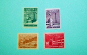 Albania - 697-700, MNH Set. Industrial Development. SCV - $26.10
