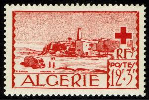 Algeria #B68  MNH - View of El Oued Red Cross (1952)