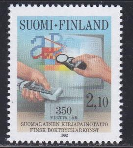 Finland # 902, Printing in Finland 350th Anniversary, NH, 1/2 Cat.