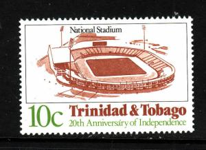 Trinidad & Tobago-Sc#374-Unused NH-National Stadium-Inverted side watermark-new