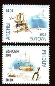 Georgia/Abkhazia Europa Cept 2008 MNH