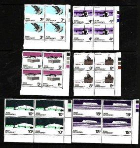 Ross Dependency-Sc#L9-14- id5-unused NH set in blocks of 4-Ships,Planes-Scott ba