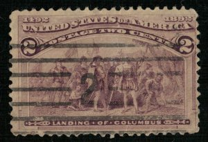 USA, 1892, Columbian Exposition Issue, SC #231 (4145-Т)