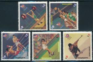 Bangladesh - Seoul Olympic Games MNH Sports Set (1988)