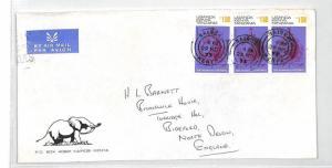 BT292 1973 Kenya Nairobi Commercial Air Mail ELEPHANT LOGO Cover {samwells}PTS