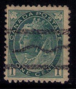 Canada Sc #75 Rare Roller Type Precancel F-VF