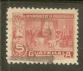 Guatemala     Scott  C143     Independence     Used