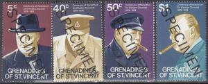 Grenadines of St Vincent, Sc # 52-55, MNH, Specimen - Churchill