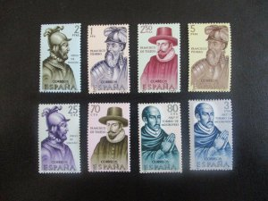 Spain #1271-76 Mint Never Hinged (N6T9) WDWPhilatelic
