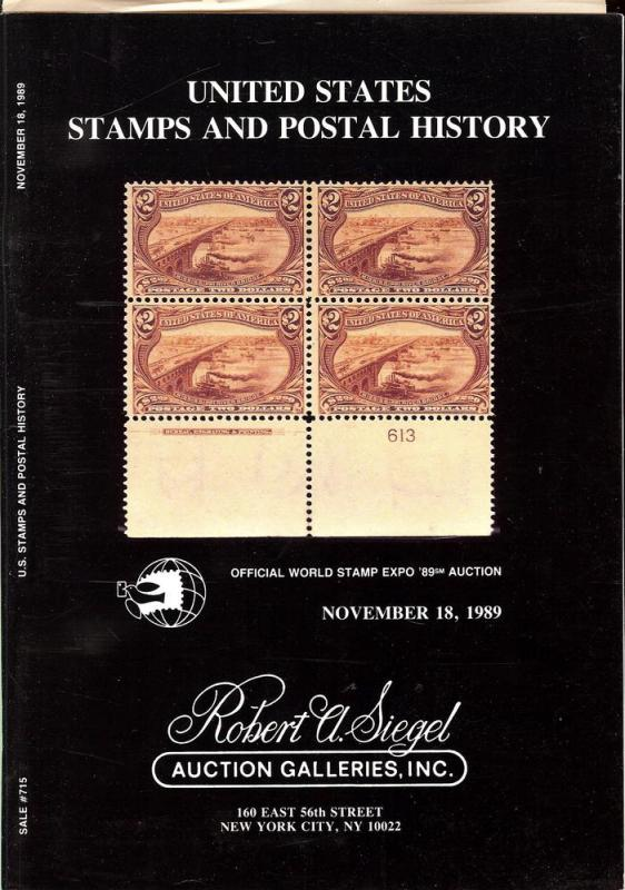 United States Stamps and Postal History: Official World S...
