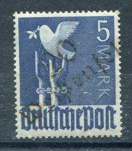 GERMANY SOVIET ZONE HOP BEZIRKSHANDSTEMPEL BEZIRK II d IV PERFECT MNH 088