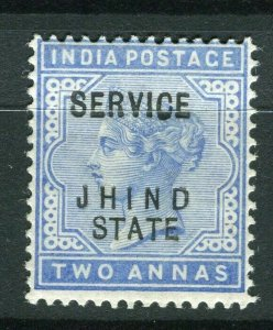 INDIA; JHIND 1886-1902 early QV issue fine Mint hinged 2a. value