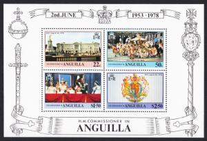 Anguilla 25th Anniversary of Coronation MS SG#MS324 SC#318a