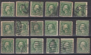 Old Used United States Stamps - Lot #MO-310