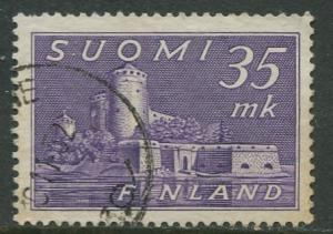 Finland - Scott 280 - Castle in Savonlinna -1949- Used - Single 35m Stamp