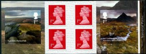 HERRICKSTAMP NEW ISSUES GREAT BRITAIN National Parks Self-Adh. Retail Booklet