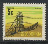 Rhodesia   SG 443  SC# 281  Used  defintive 1970  see details
