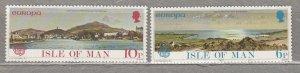 ISLE OF MAN 1977 Europa CEPT MNH(**) Sc 99-100 #HS167