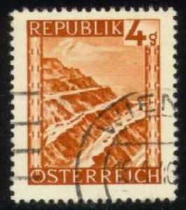 Austria #456 Eisenerz Surface Mine, used (0.25)