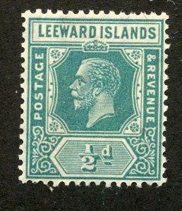 Leeward Islands, Scott #62, Mint, Never Hinged