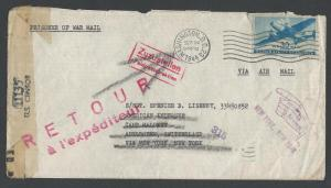 Unusual Transport Issue Cover, 30c Transport #C30, WWII R...
