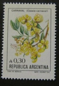 1985 Argentina 1755 Flowers 1,20 €