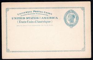 Scott #UX13/S16  Mint Postal Card  SCV $250