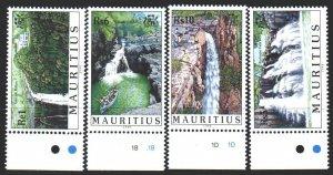 Mauritius. 1998. 866-69. Tourism, waterfalls. MNH.