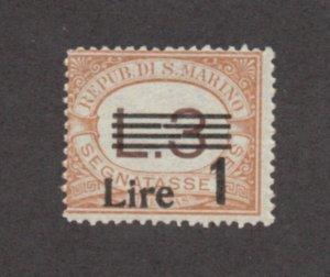 San Marino - Sc# J57 MNH     /     Lot 0921370