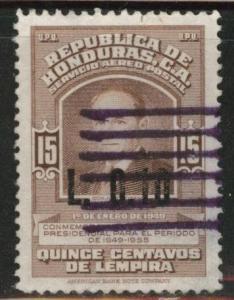 Honduras  Scott C346 Used airmail stamp