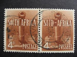 SOUTH AFRICA Sc 86 Used pair, nice stamps, check them out!
