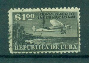 Cuba sc# C11 (1) used cat value $2.00