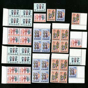 Vietnam Stamps # 385-8 XF Lot of 10 OG NH Scott Value $90.00