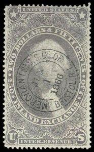 U.S. REV. FIRST ISSUE R84c  Used (ID # 95205)