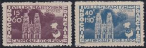 Indochina B30-B31 MNH (1944)
