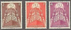 Luxembourg #329-31 Mint VF NH