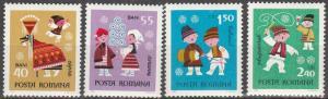 Romania #2138-41 MNH  (K1201)