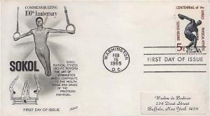 United States, First Day Cover, Sports
