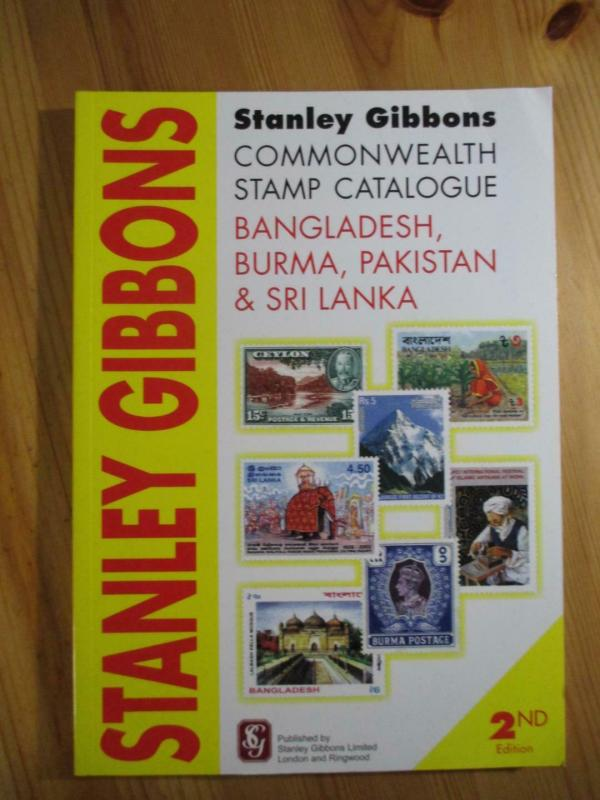 VEGAS - 2011 2nd Ed - Gibbons Bangladesh, Pakistan, etc  Stamp Catalogue - CV117