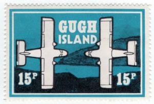 (I.B) Cinderella Collection : Gugh Island 15p (Aircraft Series)