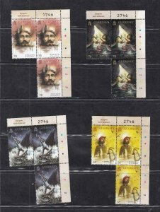 GB-GUERNSEY (MK7195) VF-MNH 2016 VICTOR HUGO-TOILERS OF THE SEA /3 OF EACH
