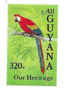 Guyana #931 320c Parrott (MNH) CV $4.25