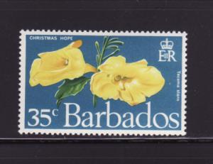 Barbados 352 MNH Flowers