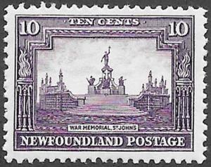 Newfoundland Scott Number 169 VF H