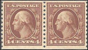 457 Mint,OG,NH... Pair... SCV $55.00