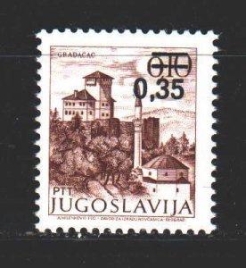 Yugoslavia. 1978. 1755 from the series. City Gradacac. MNH.