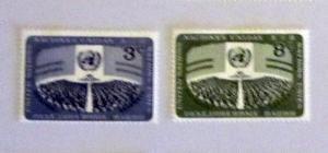 UN, NY - 45-46, MNH Set. General Assembly. SCV - $0.50
