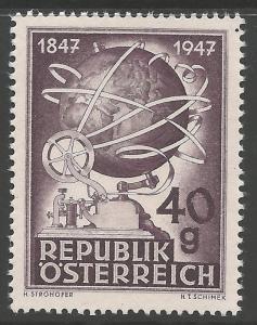 AUSTRIA SG1071 1947 TELEGRAPH CENTENARY MNH