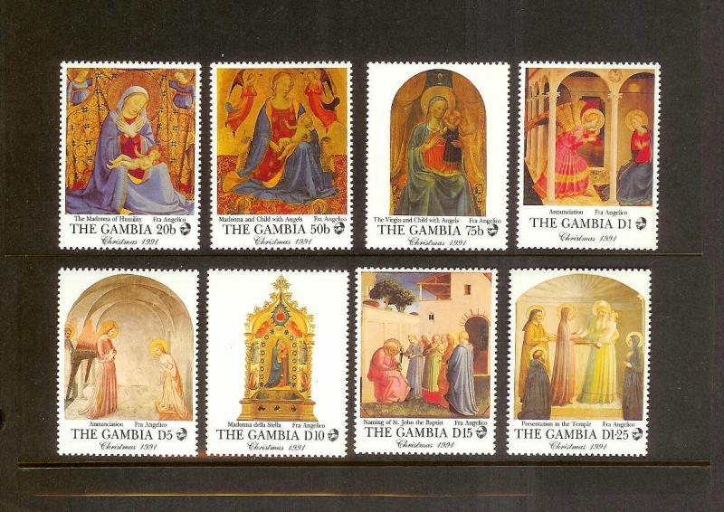 GAMBIA Sc#1162-1169 full set MINT NEVER HINGED