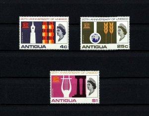 ANTIGUA - 1966 - QE II - UNESCO - EDUCATION - SCIENCE - CULTURE - MINT MNH SET!